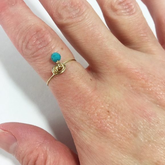 Katy Ginger Designs Jewelry - KATY GINGER DESIGNS Turquoise Ring